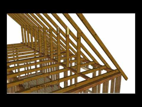 Using Walls Instead of Purlin Braces to Support Roof Rafters – Attic Remodeling Tips