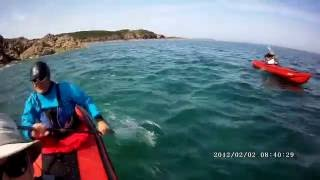 Rapide du rabioux en kayak seawave de gumotex yourepeat - Test kayak gonflable ...
