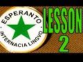 Esperanto lesson 2: Nouns, adjectives, plurals, and articles