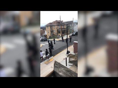 Morgantown Police Fire Tear Gas On Crowd