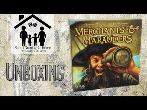 Merchants & Marauders Unboxing