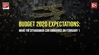 Budget 2020 expectations: What FM Sitharaman can announce on February 1
