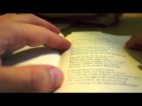 Reading Leonard Cohen Poetry