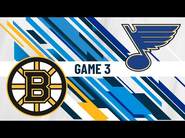 Stanley Cup Final Game 3 - 1st intermission