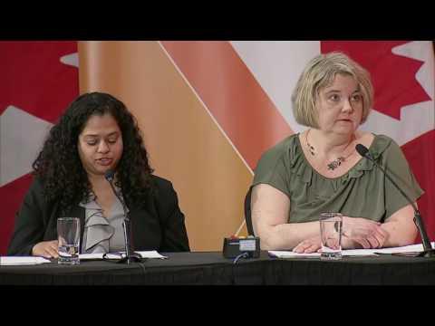 NDP leadership candidates debate