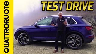 Nuova Audi Q5: il test drive di Quattroruote (con Paolo Massai)
