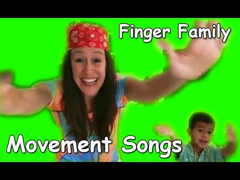 Finger Family Song for Children | Movement Songs | Nursery Rhymes | Live with Patty Shukla LIVE!