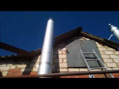 Установил и себе дымоход для  газового котла.