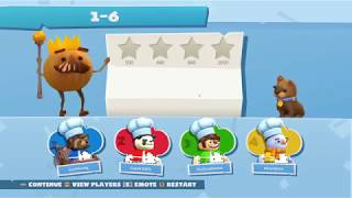 Overcooked 2 - Lunar New Year Stage 1-6 | 4 Players 4 Stars