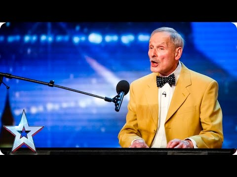 David Forest's never ending song leaves Simon buzzing | Auditions Week 6 | Britain's Got Talent 2016