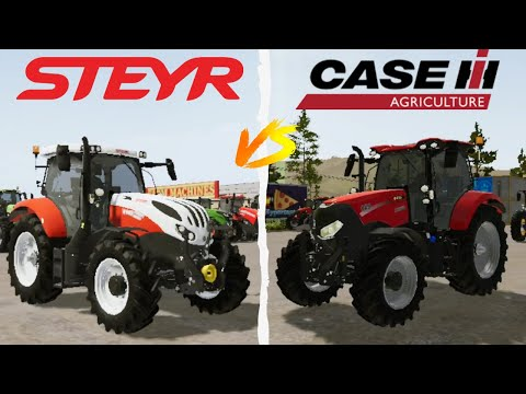 FS 20 Android 🚜 STEYR Vs CASE IH MAXXUM 🚜 The BEST TRACTOR 🥇