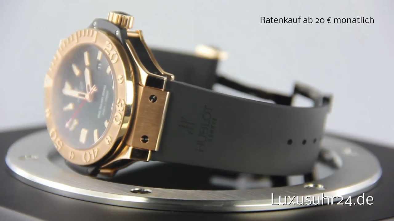 62d00d984d1 Hublot Big Bang King 322.PX.100.RX Luxusuhr24 Ratenkauf ab 20 Euro Monat -  YouTube