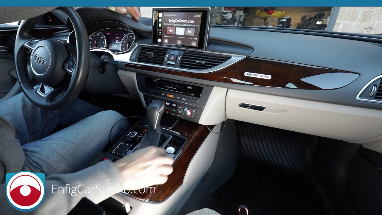 Apple CarPlay and phone mirroring Audi A6/A7 2016