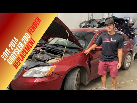 Learn how to replace your 2011-2014 Chrysler 200 fender!