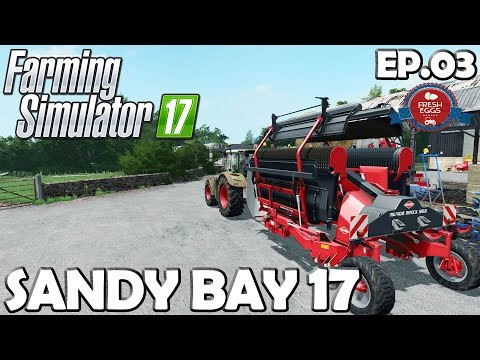 Lets Play Farming Simulator 17 | Sandy Bay 17 Ep 03