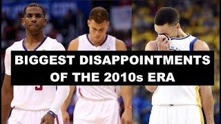 5 Most Disappointing NBA Teams Of The 2010s Decade