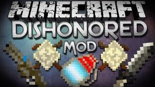 Minecraft Mod Showcase: Dishonored Mod - Wheellock Pistol, Blink, Whale Oil, and More!