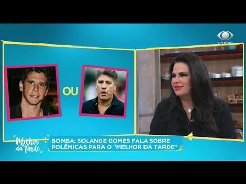Solange Gomes: Estou cansada de dar moral pro Renato Gaúcho