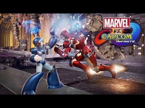 Marvel vs. Capcom Infinite Gameplay Trailer!
