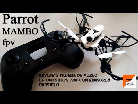 PARROT MAMBO FPV, Review en español y prueba de vuelo indoor