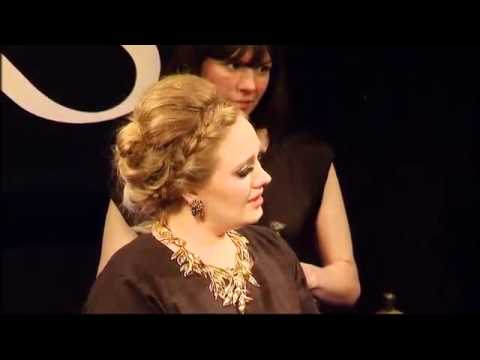 Adele at the Ivor Novello Awards (May 17th, 2012)