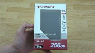 видео Transcend ESD400