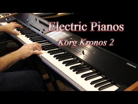 Korg Kronos 2 - Factory Electric Pianos
