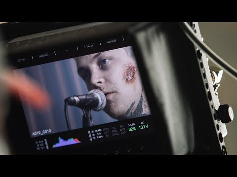"The Amity Affliction ""Can't Feel My Face"" // Behind The Scenes"