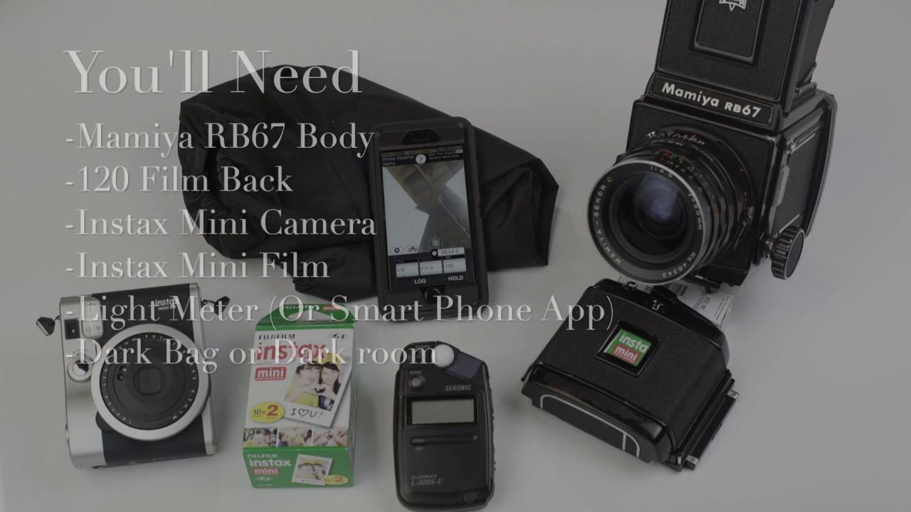 Pushing the Limits of Fujifilm Instax Mini Instant Film