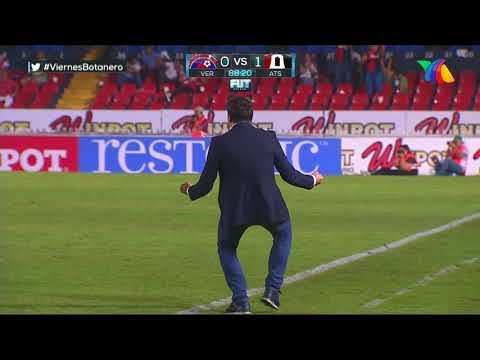 Gol de J. Torres | Veracruz 0 - 1 Atlas | LIGA Bancomer MX - Clausura 2019  - Jornada 13