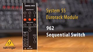 962 Sequential Switch Eurorack Multiplexer Module