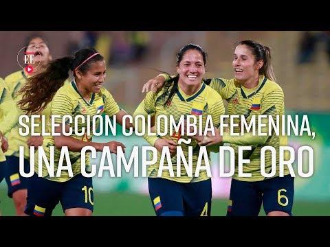 Selección de Colombia femenina gana la medalla de oro en los Panamericanos de Lima - El Espectador