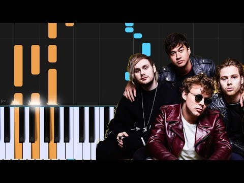 "5 Seconds Of Summer - ""Lie To Me"" Piano Tutorial - Chords - How To Play - Cover"