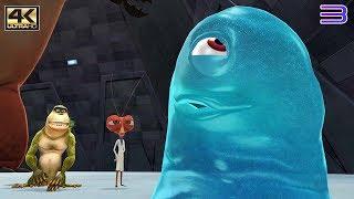 Monsters vs. Aliens - PS3 Gameplay 4K 2160p! (RPCS3)