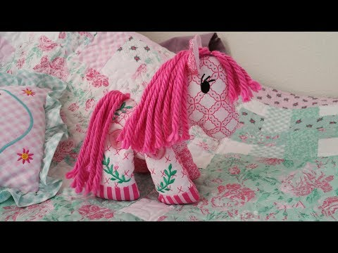 Sienna The Horse -stuffed Toy Design Made In The Hoop ,machine Embroidery