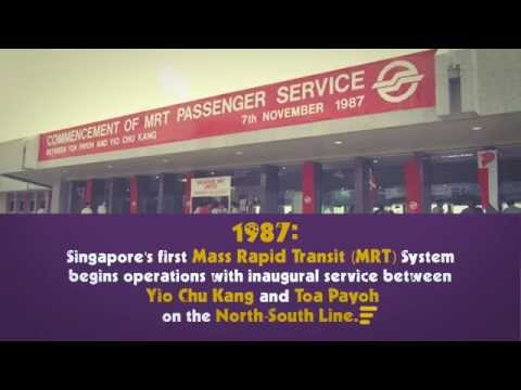 [SMRT SG50 Video Series 3]: MRT Stations