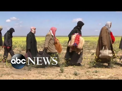 New images show ISIS surrender in Syria