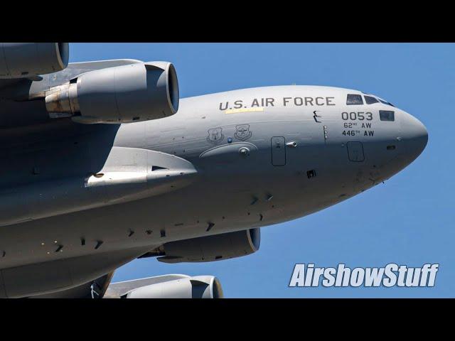 C-17 Globemaster III Demonstration - Sun 'n Fun 2021