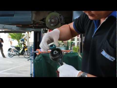 DIY BMW E34 บูชยางปีกนก
