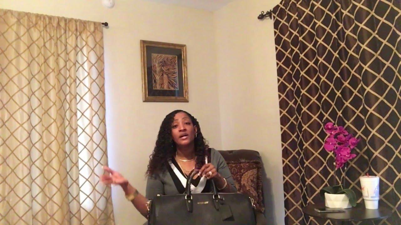 38967117cc7421 Michael Kors Jet Set Large Leather Weekender Bag Review! - YouTube