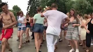 Открытый урок в парке Горького