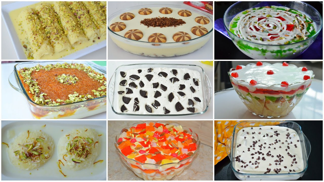 13 EASY DESSERTS 2020 by (YES I CAN COOK)