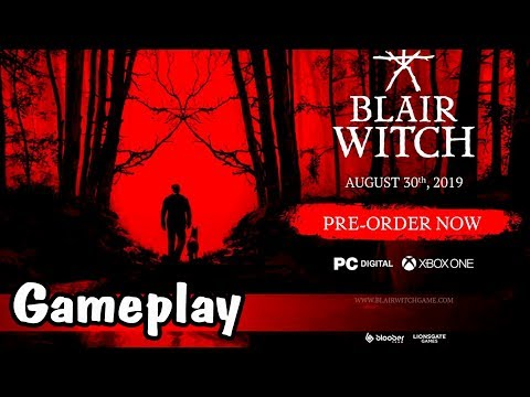 Blair Witch ► Official Reveal Trailer | E3 2019 ►Gameplay Обзор psychological horror game