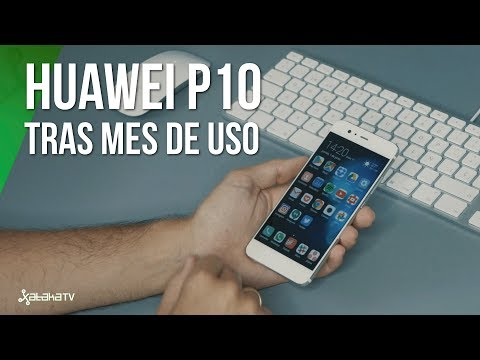 Huawei P10, review tras mes de uso