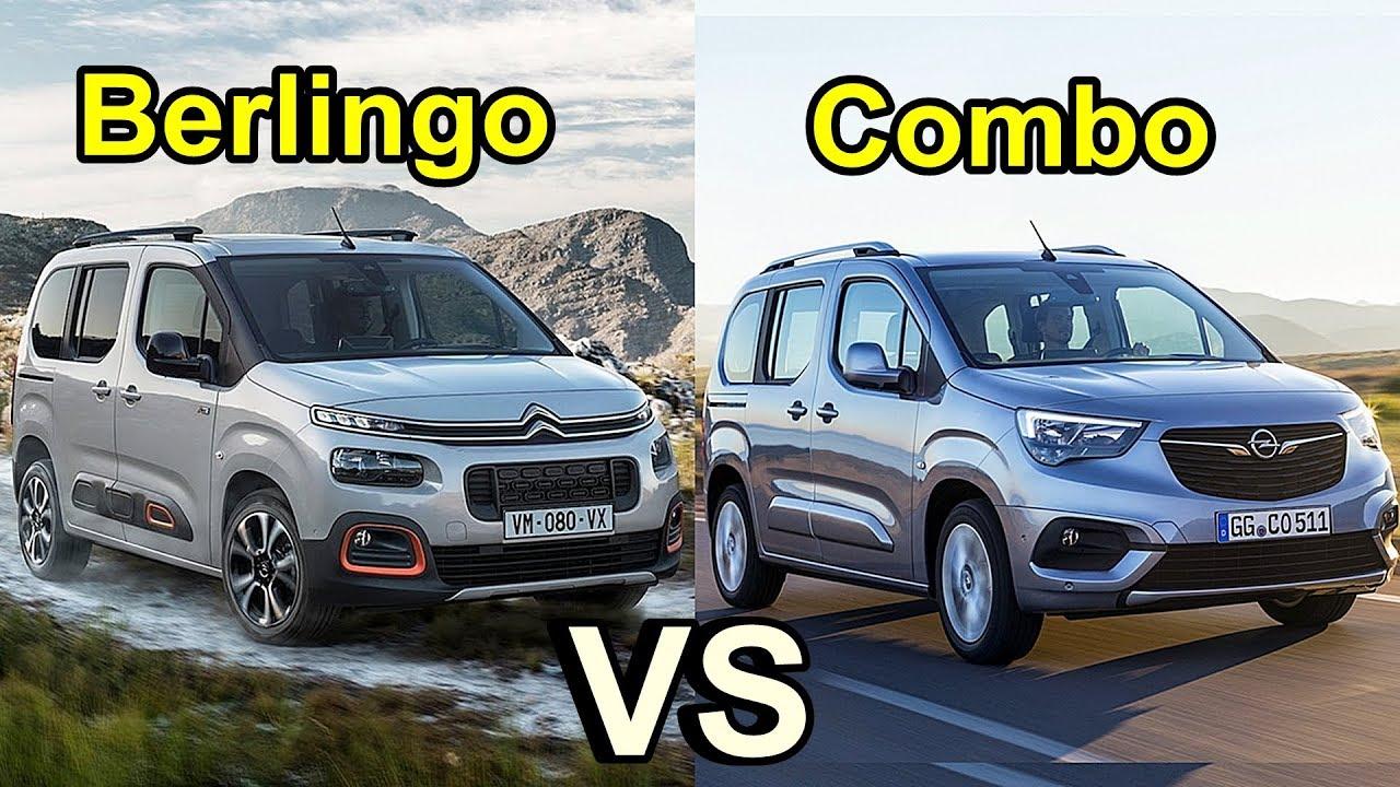 Long Life Vehicle >> 2019 Citroën Berlingo vs 2019 Opel Combo - YouTube