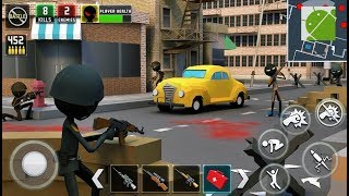 Stickman Royale World War Battle - Android Gameplay FHD