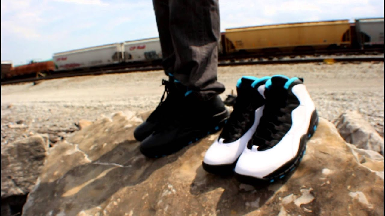 8c9937971ba85c ... denmark air jordan 10 retro powder blue youtube 29aa3 79976
