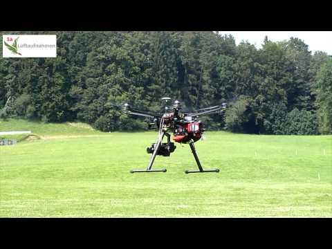 S800 EVO A2 Erstflug mit Parachute von Opale-Paramodels