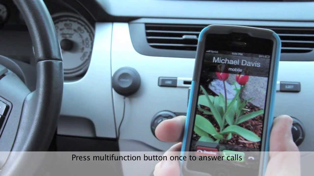 Hands Free Car Kit: Bluetooth Hands-Free Car Kit From Kinivo