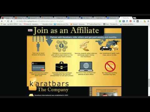Making money through affiliate programmes